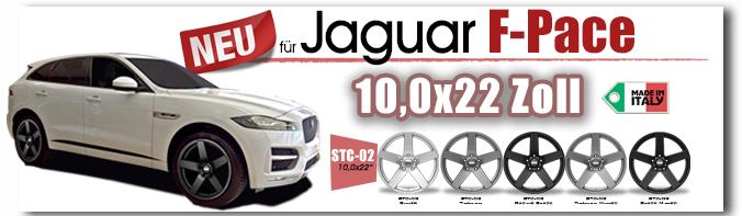 Jaguar F-Pace 22 Zoll STC-02 Drewske Tuning