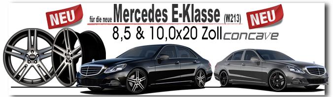 Mercedes E-Klasse W213 STC-05 8,5 & 10,0x20 c