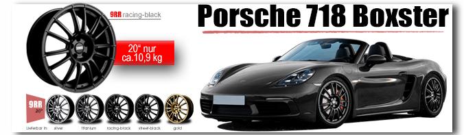 Porsche 718 Boxter Fondmetal 9RR