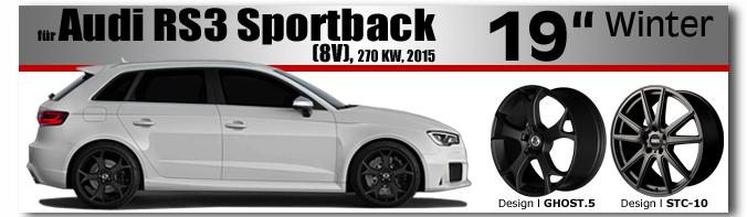 Audi RS3 19 Zoll