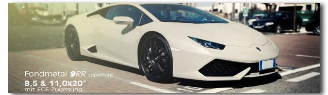 Lamborghini Huracan - 9RR
