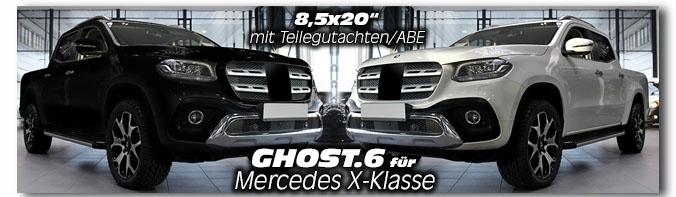 Mercedes X-Klasse GHOST.6 20 Zoll