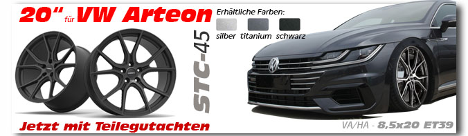 VW Arteon 8,5x20